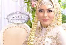 Makeup, hair-do and hijab style of our brides by HD Wedding Gallery