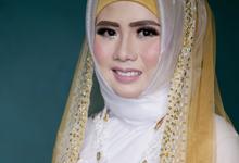 Hijab Wedding by Indah Aurora MUA