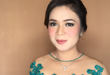 Bridesmaid by indimakeupandhair
