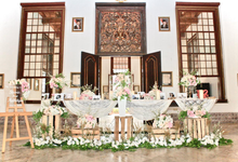 Stevie & Adithya by indodecor