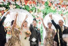 Indra Astrell Wedding | The Reception by Ducosky