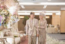 Pernikahan Inetta & Irfan At Menara 165 by Medina Catering