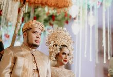 Raisa & Fahlevi Wedding day by Inframe photo video