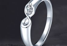 Infinity Stare Wedding Ring by TIARIA