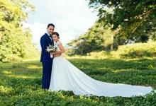 Aaron & Psiena by Ingrid Santillan Bridal and Bespoke