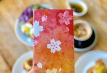 Flower Gradation by Ink & Paper