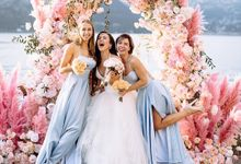 Julia Wedding At Bellagio by Bridal Luxury Beauty Service