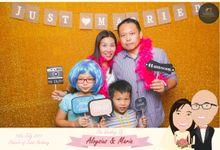 Wedding Photobooth - Aloysius and Maria by Alan Ng Photography