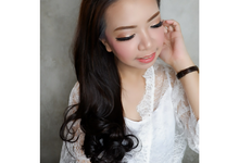 Bride to Be Ms. Melly by Shella make up artist