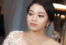 Mellysa's Wedding by Intana Makeup