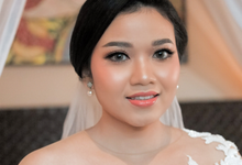 Mellysa's Wedding by Intana Makeup