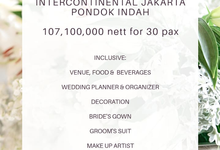 Collabs Studio Akad Nikah/Blessing Package 2021 by InterContinental Jakarta Pondok Indah