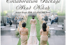 Collabs Package 2020 Akad Nikah & Holy Matrimony by InterContinental Jakarta Pondok Indah