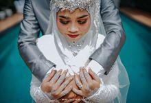 The Wedding Of Puji & Ridwan by Villa Srimanganti