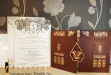 Traditional theme invitation by Icreation
