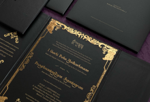 Pawiwahan Bali (Trifold hardcover) by Invitation Papermint