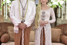 The wedding of Devina & Akbar by Inw.id by intan wardi