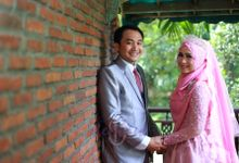 The Wedding Of Ayu & Dhanu 23 April 2017 by Omah Kebon Bekasi