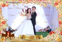 Photobooth Rido & Elly by Angel Photography