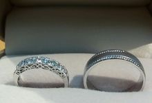 wedding bands new by Ivana Jewellery