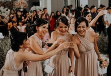 The Wedding of Irvin & Rikka by PlanMyDay Wedding Organizer