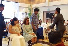 Wedding of 1st Lt. Gerry Jr. and 1st Lt. Aiko  by Good Vibes MC Bert