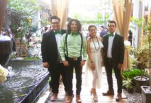 Kevin & Meli Wedding At Tjendana Bistro by Josh & Friends Entertainment