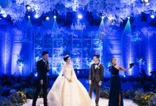 Chinoiserie mixed with Moroccan style wedding by Violet L'Evento