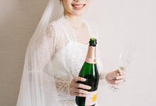 The Wedding of Michelle & Glenn by Sorelle Robes