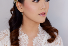 Wedding Makeup for Cindy by Ivany Nugraha Make Up