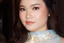 Soft glam makeup with Igari blush on style by ivenamakeup