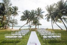 Sheryl & Ben at Lipa Lodge Resort on Koh Samui by BLISS Events & Weddings Thailand