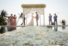 Jessica and Daniel wedding at Conrad Koh Samui by BLISS Events & Weddings Thailand