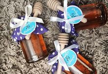 Personalised Honey Pots by Whipped Love