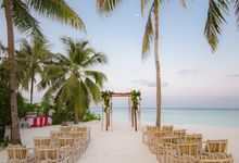Destination Wedding Maldives by 7 Sky Event Agency