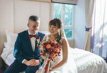 Jacinda and Shaun by O'hara Weddings