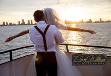 Wedding Cruise by Perry William Photography