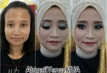 Wedding Makeup Trial by Abigail Yensy Makeup