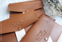 Pouch SV3 leather by Jakarta Souvenir
