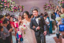 The Wedding of Fabian and Agnes by Bernardo Pictura