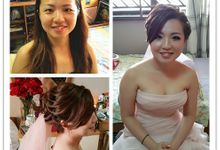 Wedding Makeup and hairstyling by Weiyee-makeup