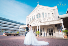 Alan & Jocelyn Wedding Ceremony by Jamaze Gallery