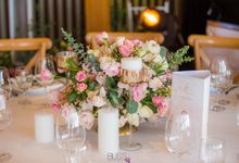 Welcome dinner at Aow Thai hall Conrad Koh Samui by BLISS Events & Weddings Thailand