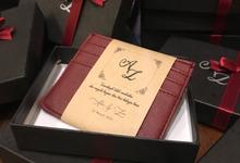 Adam and Zizi Wedding by Jane Austen Gift