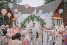 JARISKA & FADEL WEDDING by Gifu Souvenir