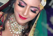 Bridal makeup  by Jasmeen artistry