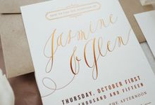 Jasmine & Glenn by Paperi & Co.