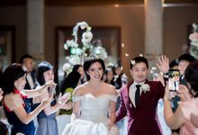 Fairmont Singapore - Jason & Cindy by Maestro Wedding Organizer