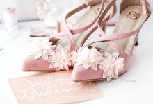 @Citrajaja | #SachlireneBernadette Bridemaid Shoes by SACHLIRENE TFOTA