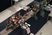 The Wedding of Jaya & Chelsea by Surabe Catering